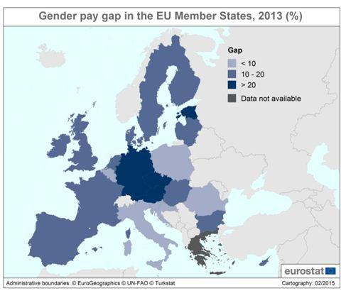 gender gap germania
