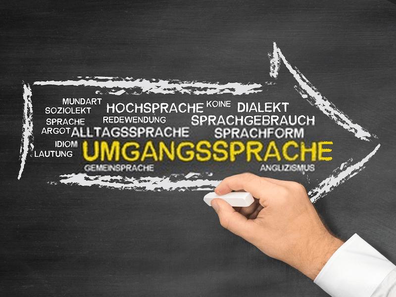 umgangssprache